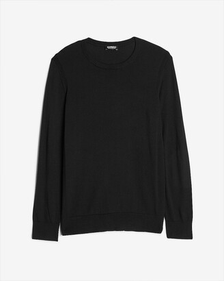 Express Merino Wool-Blend Crew Neck Sweater