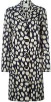Lanvin printed coat - women - Cotton/Acrylic/Polyamide/glass - 36