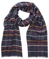 Tommy Bahama Plaid Print Knit Wrap Scarf