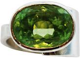 """Joan Hornig Zelda"""" Green Amethyst Cocktail Ring"""