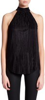 Willow & Clay Pleated Mock Neck Tank