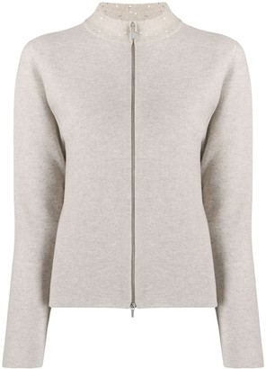Fabiana Filippi Zipped Cardigan