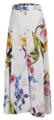 Ganni Printed midi dress