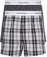 Calvin Klein Pack of 2 Poplin Boxer Shorts
