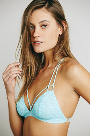 Fish In The Sea Strappy Bra by Intimately at Free People