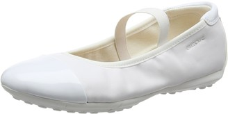 Geox Girls' JR Piuma Ballerine C Closed Toe Ballet Flats