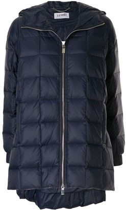 Lu Mei quilted padded coat