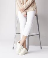 White Wash Suki Capri Jeans