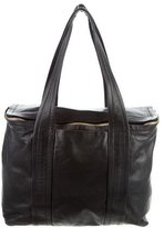 Pierre Hardy Leather Zip-Around Tote