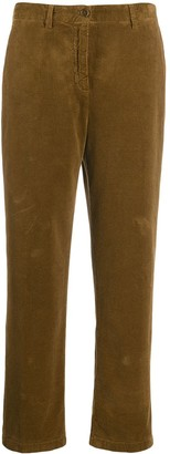 Aspesi straight fit corduroy trousers
