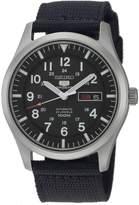 Seiko Men's SNZG15 5 Automatic Dial Nylon Strap Watch