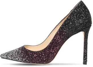 Jimmy Choo 100mm Romy Gradient Glittered Pumps