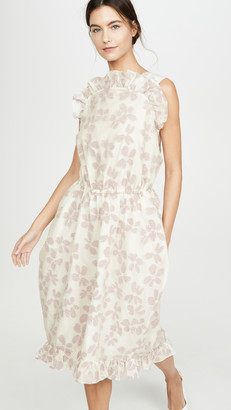 pushBUTTON Front Frill Point Dress