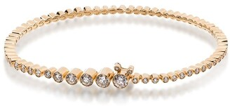 Sophie Bille Brahe 18kt gold diamond Tennis bracelet