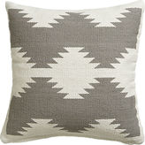 "CB2 Tecca 18"" Pillow With Feather-Down Insert"