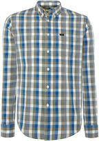 Lee Regular Fit Button Down Gingham Shirt