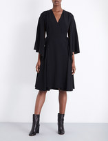 Chalayan Split-sleeve crepe dress