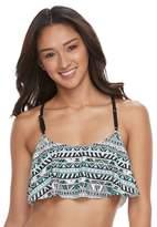 SO Racerback Flounce Bikini Top