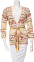 Missoni Open Knit Belted Cardigan