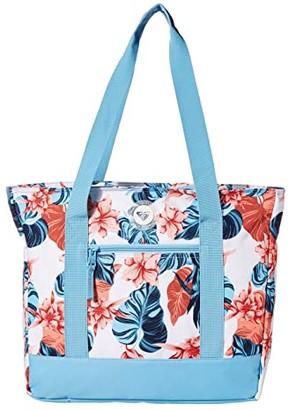 Roxy Bird Alert Cooler Bag Tote (Bright White Standard) Tote Handbags