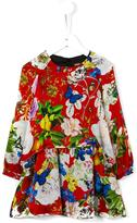 Roberto Cavalli multi print dress
