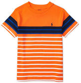 Ralph Lauren Boys 2-7 Cotton Striped Tee