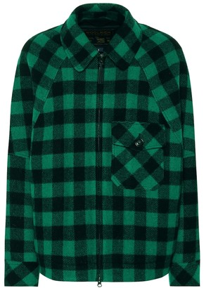 Woolrich Exclusive to Mytheresa checked wool-blend jacket