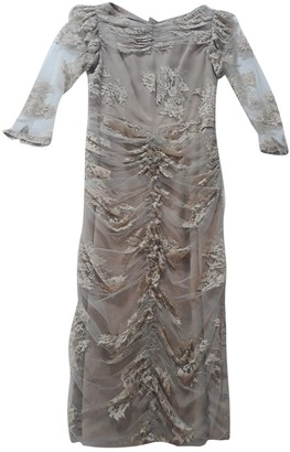 Burberry Beige Lace Dress for Women