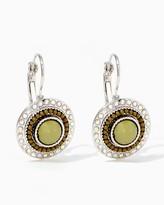 Charming charlie Sparkling Disc Earrings