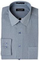 Pierre Cardin Mini Medallion-Print Slim Fit Pocket Dress Shirt