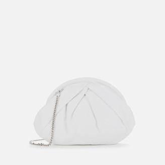 Nunoo Women's Saki Clutch Bag - White