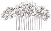 Outman Pearl Crystal Rhinestone Wedding Bridal Hair Comb Headpieces Headdress