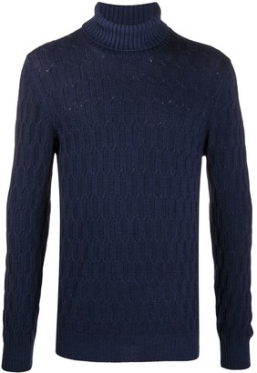 Tagliatore Roll Neck Wool Jumper