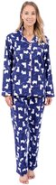 Patricia from Paris Women's Flannel Pajama Sleepwear Set (L, )