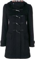 Burberry fitted duffle coat - women - Wool - 6