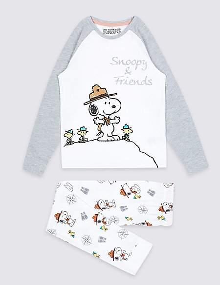 Marks and Spencer SnoopyTM Pyjamas (7-16 Years)