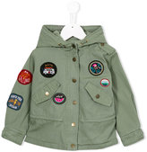 American Outfitters Kids patch appliqué parka