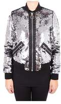 Roy Rogers Roy Roger's Women's Silver Polyester Outerwear Jacket.