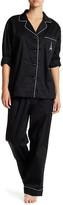 BedHead Embroidered Pocket Long Sleeve PJ Set
