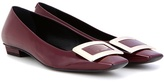 Roger Vivier Belle Vivier patent leather ballerinas