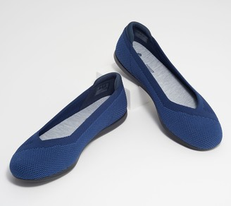 Clarks CLOUDSTEPPERS by Washable Knit Slip-Ons - Carly Wish