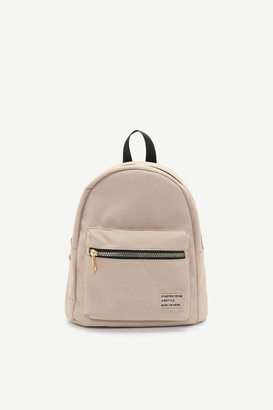 Ardene Small Eco-conscious Recycled Fabric Backpack