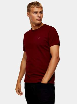 Levi's TopmanTopman Red Original Housemark Logo T-Shirt