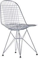 Vitra Charles & Ray Eames DKR Wire Chair - Chrome Frame