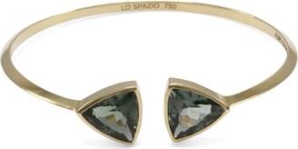 Lo Spazio Jewelry Lo Spazio Green Tourmaline Bangle