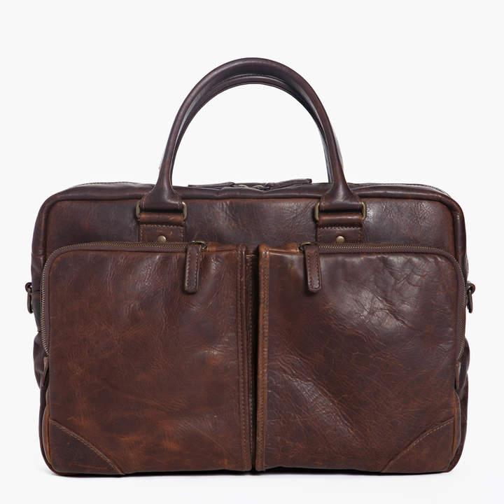 "Moore & Giles Fine Leather Commuter Bag ""Haythe"""