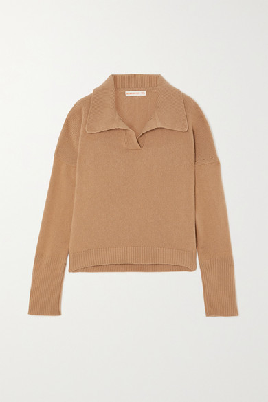 &Daughter Quinn Wool And Cashmere-blend Sweater - Beige