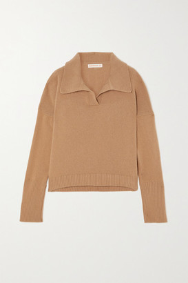 &Daughter + Net Sustain Quinn Wool And Cashmere-blend Sweater - Beige
