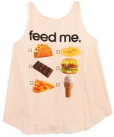Wildfox Couture Girls' Feed Me Tank - Sizes 7-14