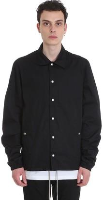 Drkshdw Snapfront Jkt Casual Jacket In Black Polyamide